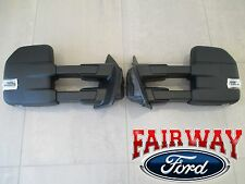 15 thru 17 F-150 OEM Ford Power Signal Heat Telescopic Trailer Tow Mirrors PAIR