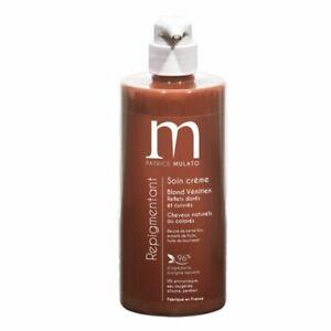 Mulato Soin crème Repigmentant Blond Vénitien reflets dorés/ cuivrés 500 ml NEUF