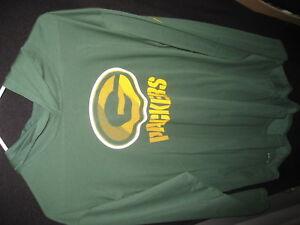 Green Bay Packers Hoodie Hooded Sweatshirt Long Sleeve Offical Team Store NEW