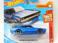 Hot Wheels NISSAN SKYLINE 2000 GT-R 2018        !VERSAND AM SELBEN TAG!! !OVP!