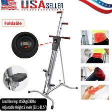 Vertical Climber Machine Exercise Equipment Stepper Cardio Fitness Gym Heavy