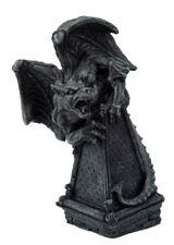 Roaring Gargoyle on a Spire Statue