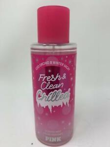 Victoria's Secret Pink Fresh & Clean Chilled Scented Mist 8.4 oz / 250 mL New