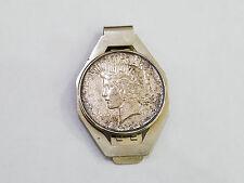 1925 Peace Silver Dollar Money Clip