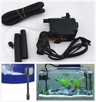 160 GPH 12W Submersible Water & Air Pump Aquarium Fish Tank Fountain Hydroponic