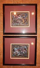 Hayes Signed Prints Cosmic Fish 102/950 and Moonfish 103/950 Arts Uniq, Inc.
