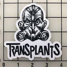 """Transplants 4"""" Wide Multi-Color Vinyl Decal Sticker - BOGO"""