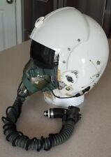 Vietnam era 1974 dated HGU-22/p Single Visor Pilot Flight Helmet and Mask