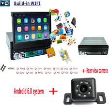 GPS Navigation WIFI Android 6.0  Single 1 DIN 7 inch Auto Car Stereo DVD player