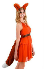 DELUXE OVERSIZED BIG FOX TAIL BROWN RED ADULT FOX FOXY ANIMAL COSTUME TAILS