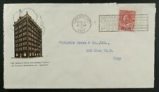 Toronto World Newspaper Building 1917 Illustrated colour advertising Admiral