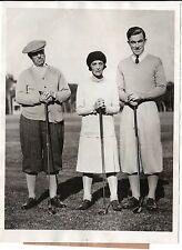 Vintage Golf Photo 1929 of Johnny Farrell, Guggenheim, St. Augustine Florida