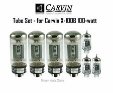Tube Set - for Carvin X-100B 100-watt Tube Amp Doctor tubes vacuum valves