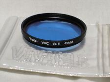 VIVITAR VMC 49mm 80B - blue - cooling - filter  #00632