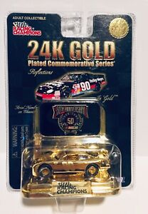 1 of 9998 Racing Champions 24K Gold Plated Commemorative Series #90 see pictures
