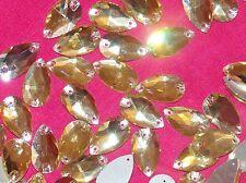 Oro cose en Stitch Bead Joya Gema De Vidrio Cristal Rhinestone del grano de cristal de baile
