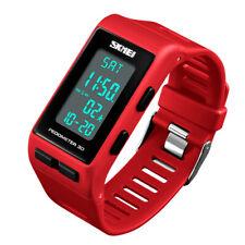 SKMEI 3D Luxury Waterproof LED Watch Digital Sports Pedometer Calories Men Women
