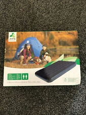 Double Air Bed Mattress Soft Flocked Inflatable Relaxing Airbed Pump Up Camping
