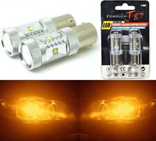 LED Light 30W 1156 Amber Orange Two Bulbs Tail Rear Replacement Show Use Color