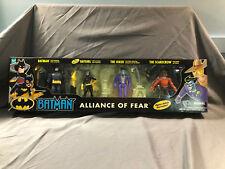 Hasbro Batman Alliance of Fear Joker Batgirl Scarecrow MIP Animated Series