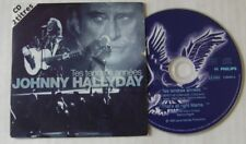 JOHNNY HALLYDAY (CD Single) TES TENDRES ANNEES  BERCY 1995