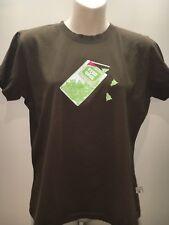 Mooks Brown Short Sleeve Crew Neck Vintage T-Shirt Top Size US L Fit AU 10 12