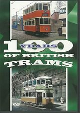 100 YEARS OF BRITISH TRAMS DVD - A FEAST OF MEMORIES - NEW