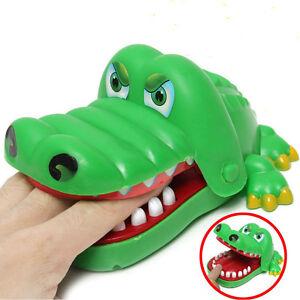 Krokodil Kroko Mund Zahnarzt Biss Finger Reaktionsspiel Kind Toy ParodieSpielzug