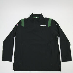 New York Jets Nike OnField Pullover Men's Black/Green New with Defect