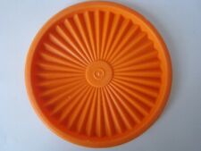 """New listing Tupperware Servalier 5"""" Decorator Canister Seal 810 Round Replacement Lid Only"""