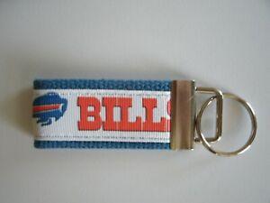 Buffalo Bills Key Chain Key Fob Key Ring Made in USA Free Ship