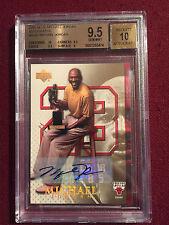 Michael Jordan 2005-06 Upper Deck Gold Signature Auto True 1/1 BGS 9.5/10 Gem Mt