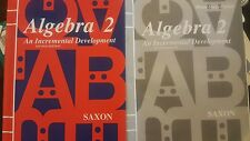 Saxon Algebra 2 Second Edition Textbook and Home Study Packet