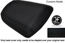 BLACK VINYL CUSTOM FOR KAWASAKI NINJA ZX6R 636 A1P 98-03 REAR SEAT COVER ONLY