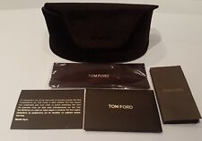 Tom Ford Glasses case brand new with sealed cleaning cloth authenticity card etc