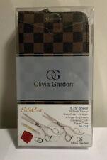 """Olivia Garden SilkCut SK-C02 5.75"""" Shears Scissors and 6"""" Thinner Deal"""