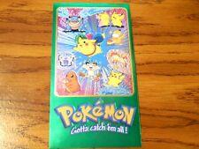 Pikachu Charmander Blastoise Topps Chrome Supersize Foil Pokemon Nintendo Card