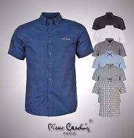 Mens Pierre Cardin Short Sleeve Regular Shirt Top Sizes from S to XXXXL
