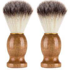 De hombre Oso de Afeitar Cepillo Mejor Afeitado Pelo De Tejón Mango de  Madera NUEVO Herramienta De Afeitar Barbero de5b053cace4