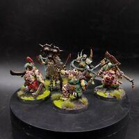 Well Painted Warhammer Age of Sigmar Maggot kin of Nurgle putrid Blight Kings ×5