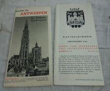 alte Beschreibung Prospekt Kleiner Antwerpen Welthafen Kunststadt 30er 40er Jahr