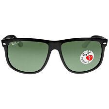 0a86e274e1e Ray-Ban RB4147 601 58 60mm Green Polarized Lens Black Plastic Sunglasses