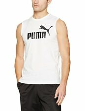 Puma Ess No.1 T-shirt Homme White FR L (taille Fabricant L)