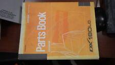 DOOSAN DX180LC Parts Book Manual