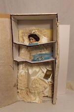 Franklin Mint Victoria & Albert Bride Doll 1989