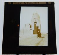 Tombs of the Caliphs Cairo Antique Glass Slide Magic Lantern  Photograph