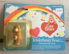 Vintage Kenner Care Bears Mini Fig Tenderheart Hug! Moc Carded