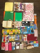 NEW Lot of School Office Supplies Pen Marker Pencil Highlighter Notebook 1100