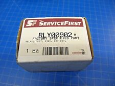 SERVICEFIRST TRANE FAN BLOWER CONTROL RELAY 230V, 24V COIL, DPDT P/N: RLY00902