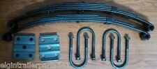 4,800 # axle suspension kit. Incl. (2) 2400 lb springs and u-bolt kit ( trailer